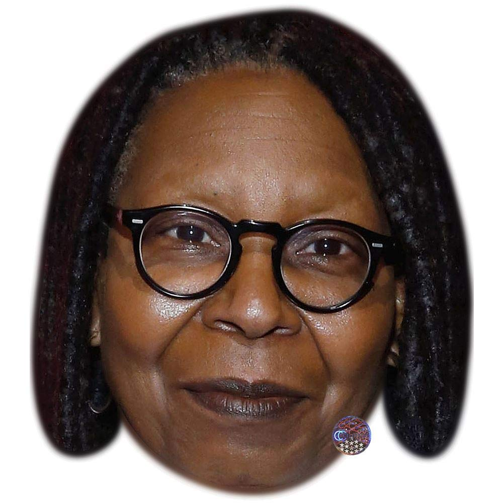 Whoopi Goldberg American Celebrity Card Mask Made In UK Fast Dispatch!