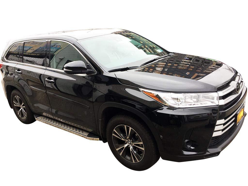 VANGUARD VGSSB-1071-1170AL For Toyota Highlander 2014-2019 Running Board Black 5 inch Aluminum Step Boards