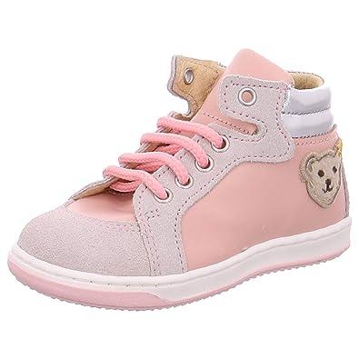 ed4a6ee82472c0 Steiff Kinder Maedchen Jasmin MK0168A8E.A rosa 407568  Amazon.de  Schuhe    Handtaschen
