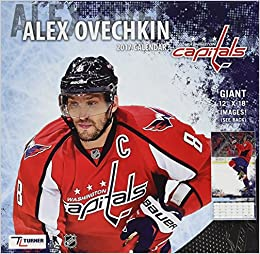 Washington Capitals Alex Ovechkin 2017 Calendar  Inc. Lang Companies   9781469340395  Amazon.com  Books 923066e5512