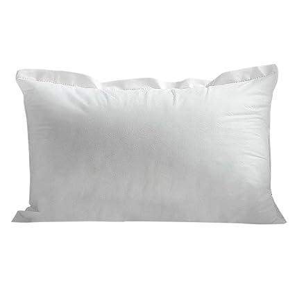FXCO Insertos Decorativa Cojín de Blancas Núcleo PP algodón Relleno sofá Home Decor, Blanco, C# 35x55cm