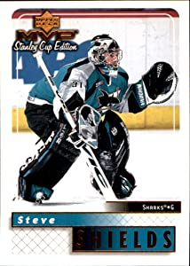1999-00 Upper Deck MVP Stanley Cup Edition #155 Steve Shields SHARKS