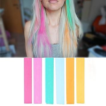 vibrant hair color faded best unicorn hair dye set pastel rainbow princess vibrant color amazoncom