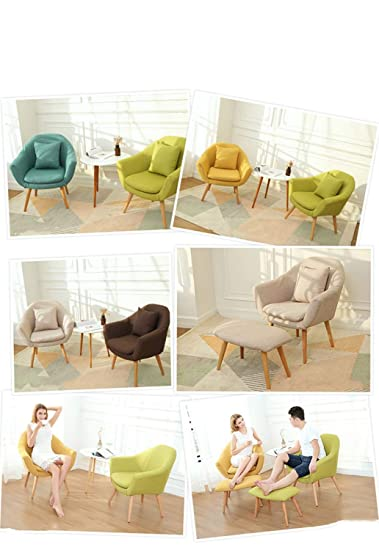 Amazon.com: Xiao Tian Lazy Floor Sofa Chair,Living Room ...