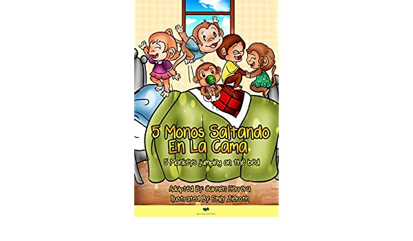 Amazon.com: Cinco monos saltando en la cama (Spanish Edition) eBook: Carmen Herrera: Kindle Store