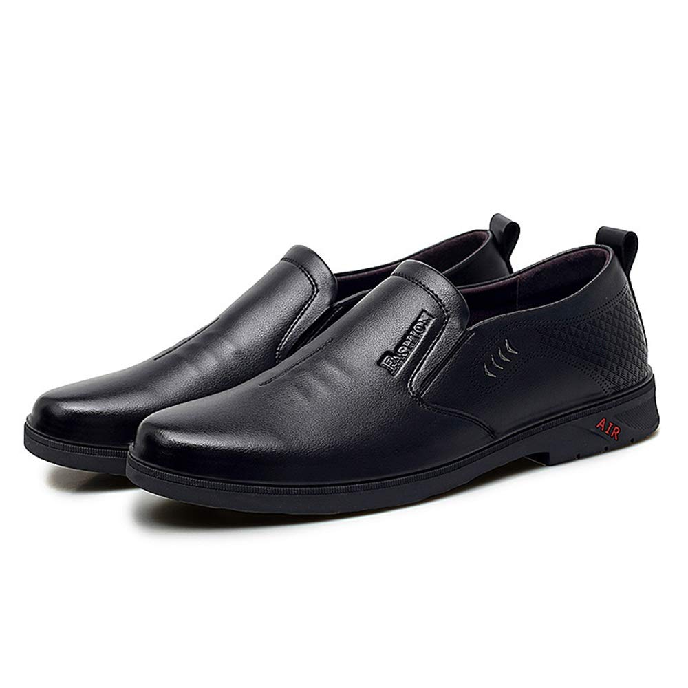 Elegdy Mens Business Oxford Casual Fashion Comfortable Convenient Low-top Formal Shoes Semi Formal
