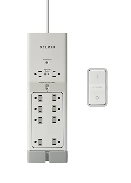 amazon com belkin conserve av switch with energy saving av surge rh amazon com