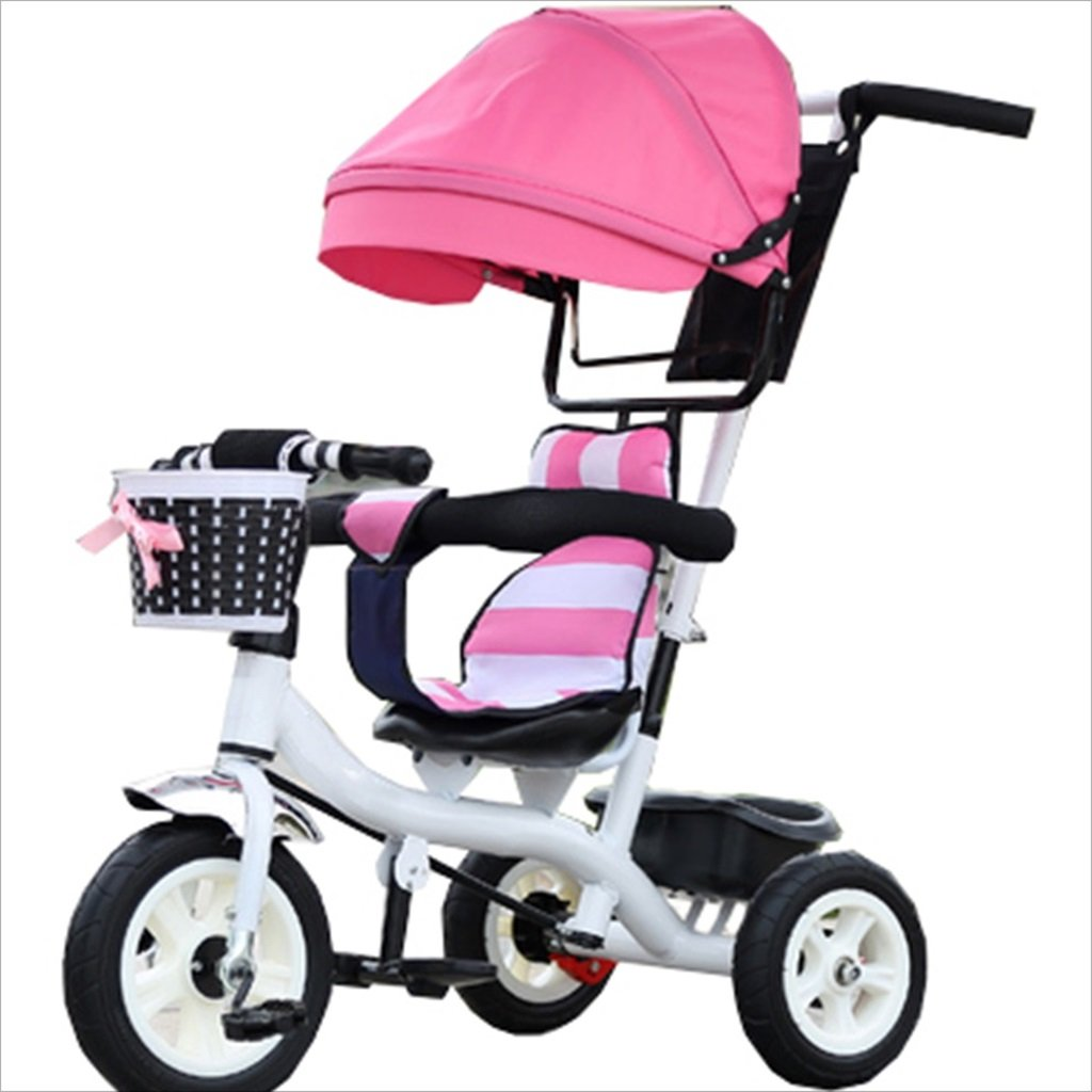 子供の屋内屋外の小さな三輪車自転車の男の子の自転車6ヶ月6歳の赤ちゃんの三輪車の女の子の自転車三輪トロリー天井、ゴムホイール (色 : 6) B07DVJNJCY 6 6