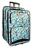 Ever Moda Bird 2-Piece Luggage Set