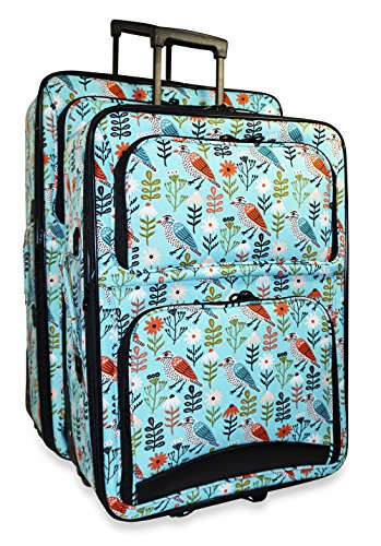 Ever Moda Bird 2-Piece Luggage Set by Ever Moda