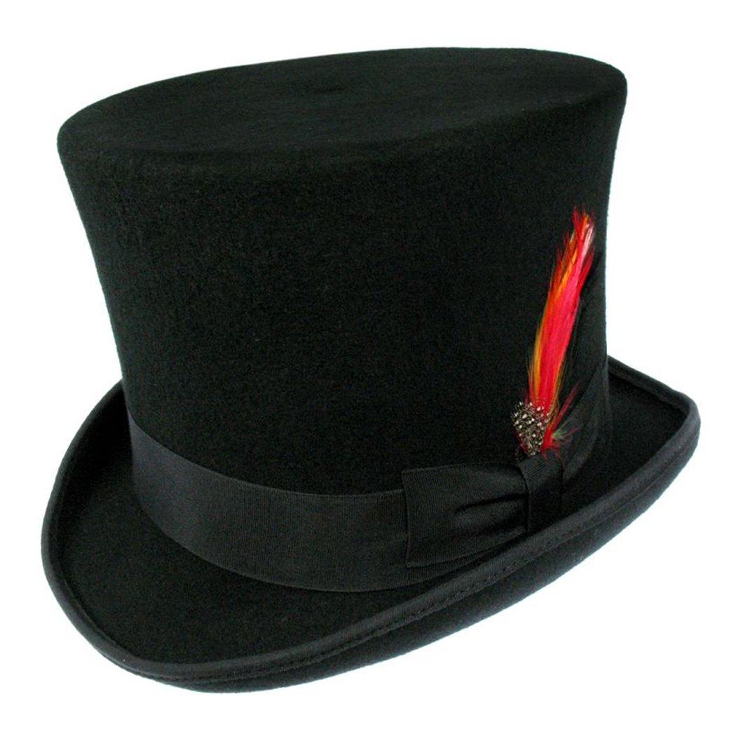 Jaxon Victorian Top Hat (7 5/8, Black)
