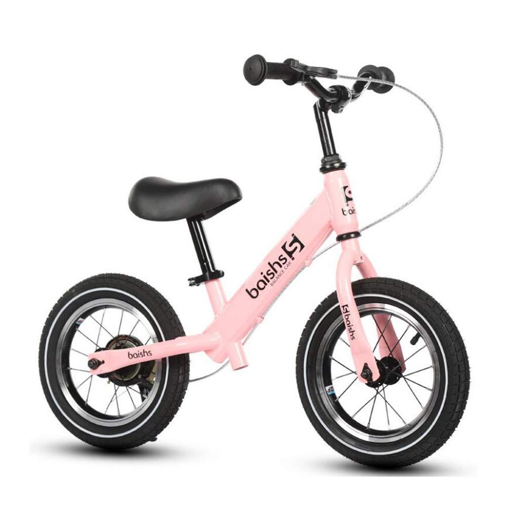 バランスバイク子供安全軽量子供最初ランニングバランスバイクノーペダルのためのブレーキとともに子供年齢2-6 歳12インチ,C  C B07PCPKT4W
