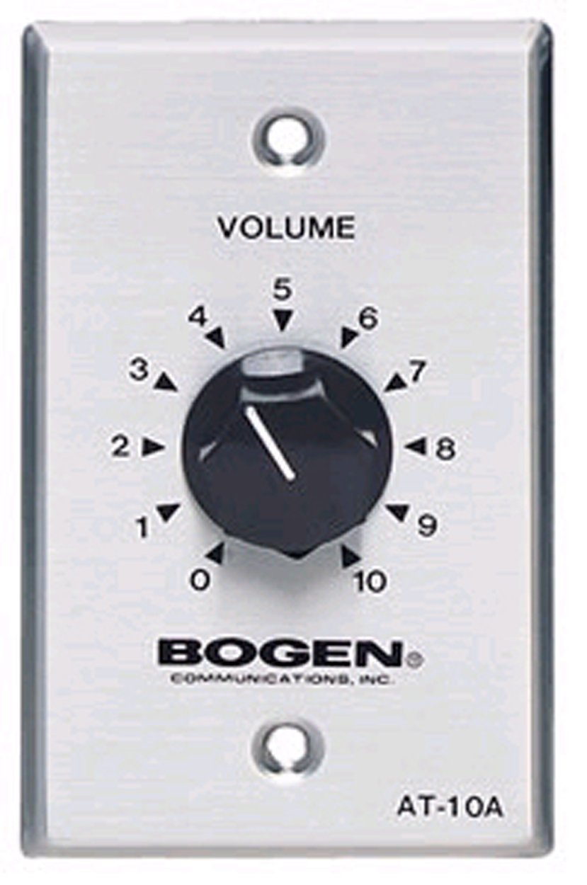 61aOksHtScL._SL1250_ amazon com bogen 10 watt attenuator single gang electronics bogen at10a wiring diagram at mifinder.co