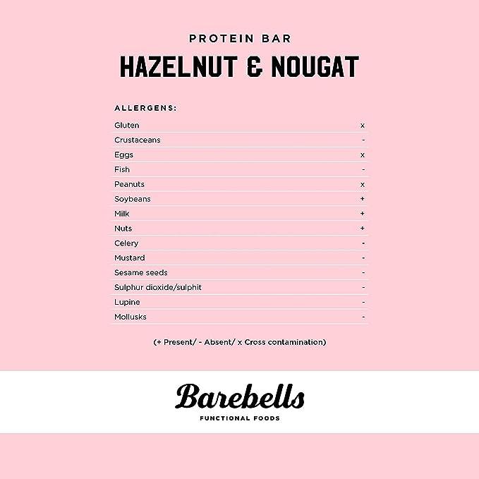 Bars parent (Hazelnut Nougat)