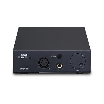 SMSL SAP de 10 Amplificador de auriculares Balanced XLR Entrada rca integrado Linear Fuente de alimentación