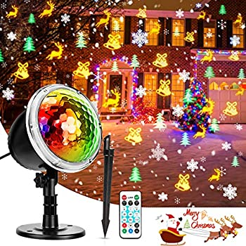 Amazon.com: Fostoy - Luces LED para proyector de Navidad ...