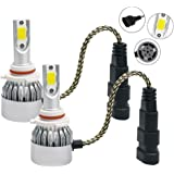 Mega Racer 9005 HB3 6000K Ultra Bright White (High Beam Headlight) CREE COB C6