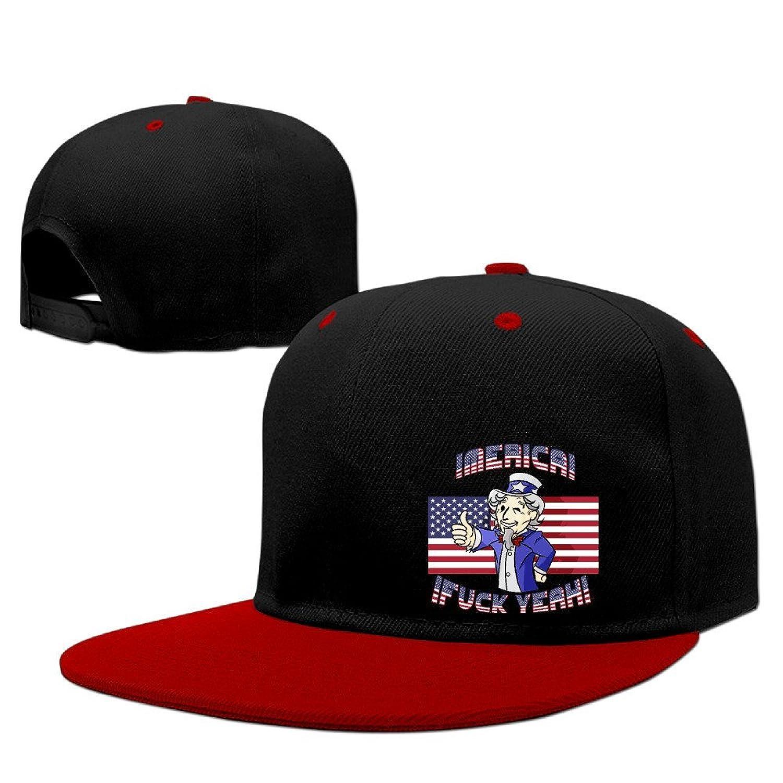 POPYol Sirvego Merica Day Snapback Adjustable Hip Pop Baseball Caps Hats For Unisex