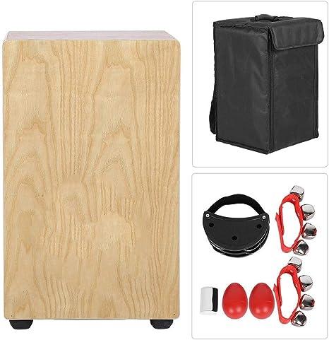 Caja de madera portátil para cajón, kit de percusión profesional con bolsa: Amazon.es: Instrumentos musicales