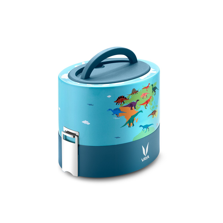 Vaya Tyffyn 600 ml Portapranzo Isolato con Bagmat - Contenitore Cibo Ermetico Acciaio Inox - 100% BPA Free, Ecocompatibile & Riutilizzabile per Adulti & Bambini