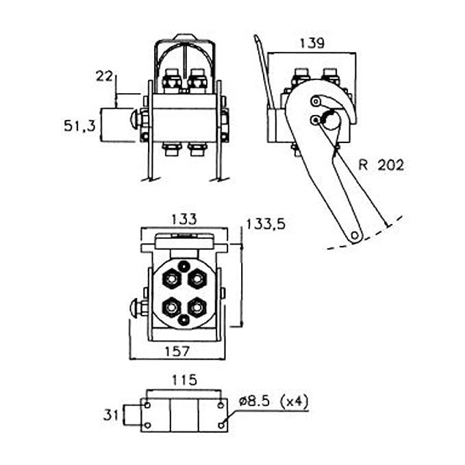 hidráulico acoplador, hidráulico Embrague, Multi acoplador de Faster: Amazon.es: Bricolaje y herramientas