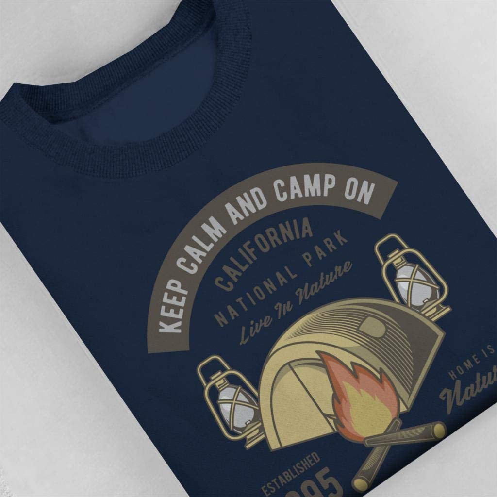 Coto7 Keep Calm and Camp Kids Sweatshirt