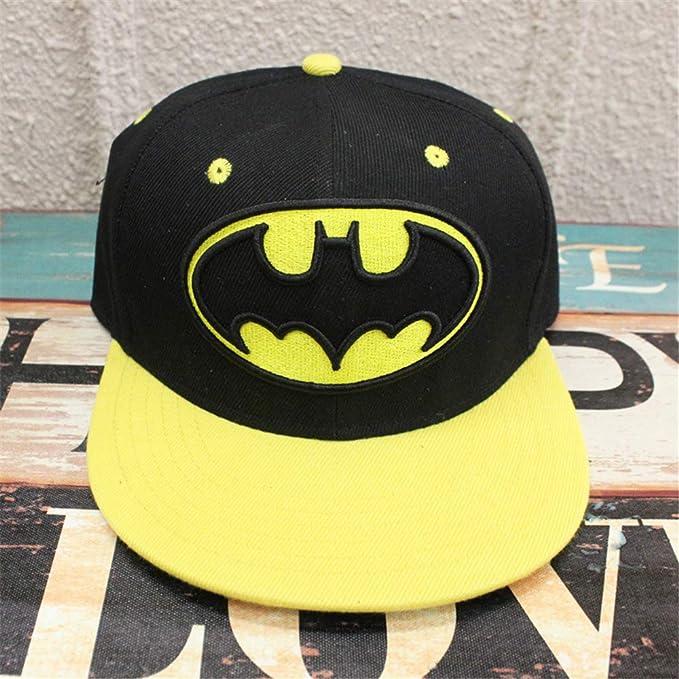 zhuzhuwen Sombrero de ala Plana Sombrero de Hip-Hop Sombrero ...