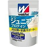 ウイダー ジュニアプロテイン ヨーグルトドリンク味 240g (約12回分) カルシウム・ビタミン・鉄分配合 合成甘味料不使用