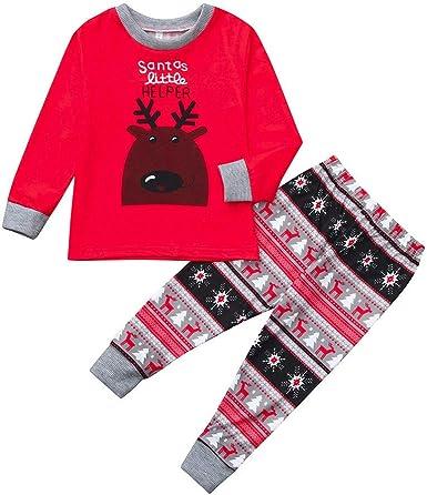 Trisee Pijama de Familia Navidad para Hombre Mujer Niños Bebé ...