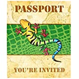 BirthdayExpress Jungle Party Supplies - Invitations (8)