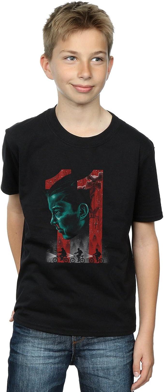 Absolute Cult Vincent Trinidad Stranger Eleven - Camiseta para niño: Amazon.es: Ropa y accesorios