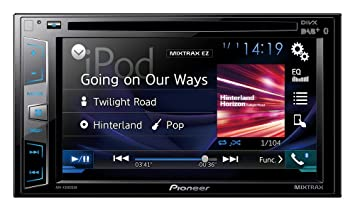 Pioneer AVH-X2800BT Reproductor multimedia 2DIN con pantalla táctil 6.2