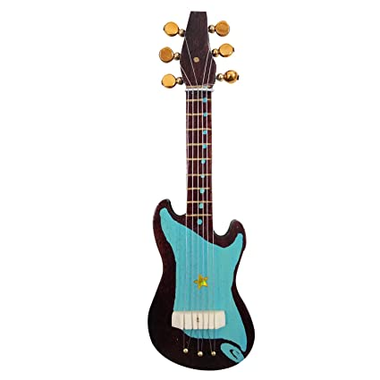 India Meets India Imán de Nevera para Guitarra Eléctrica DE 16,5 cm ...