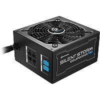 Sharkoon silentstorm Ice Wind Black alimentatore per PC ATX (80+ Bronze, DC a DC della tecnologia, gestione dei cavi, Cavo a nastro) nero nero 750 Watt