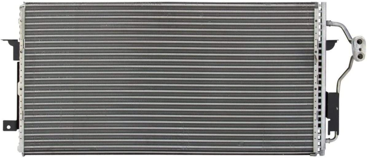 Puermto All Aluminum Air Condition Condenser 1 Row For 1997-2005 Buick Park Avenue 3.8L V6 Without Oil Cooler