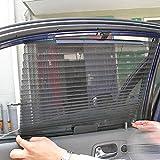 MAZIMARK--Car Retractable Side Rear Window Mesh Sun-shading Curtain Roller Blind Sun shade