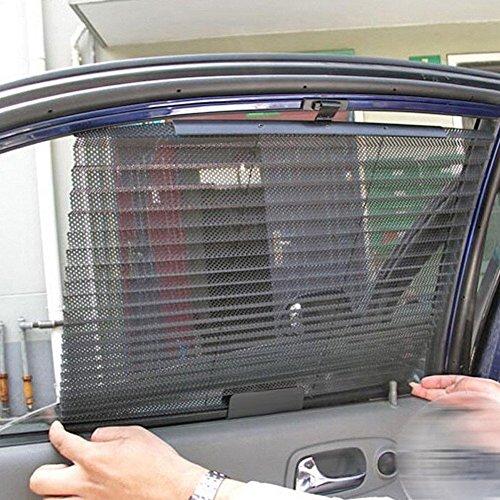 MAZIMARK--Car Retractable Side Rear Window Mesh Sun-shading Curtain Roller Blind Sun - King Sun Brewing