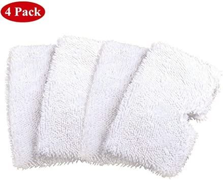 4PCS Clean Pad For Shark Pocket Steam Mop S3501 S3550 S3901 Replace Microfiber