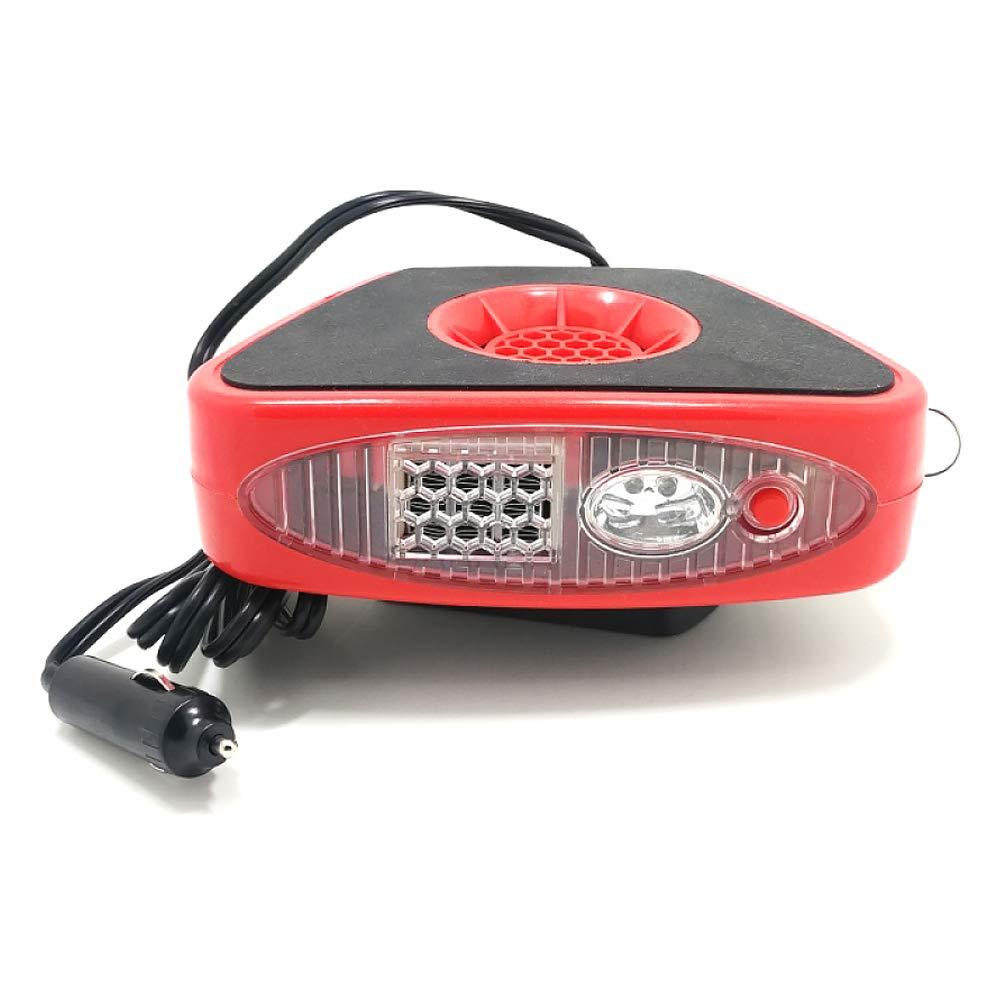 JXHD 12 V Auto Heizlü fter-Heizung Lü fter Defroster Defogger Luftreiniger Beleuchtung 150 Watt, Black