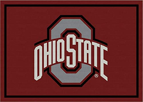 Milliken Team Spirit Ohio State Rug 3 10 x5 4