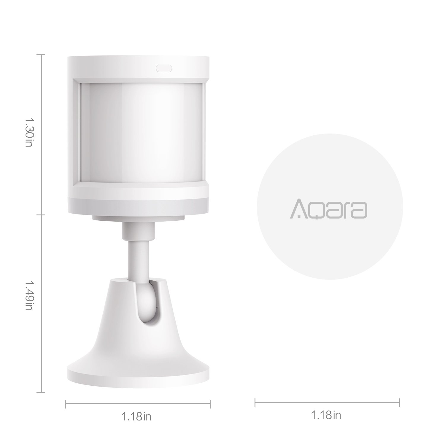 Amazon.com: Aqara 11LM Rtcgq Motion Sensor, 1 Pack, White: Home Improvement
