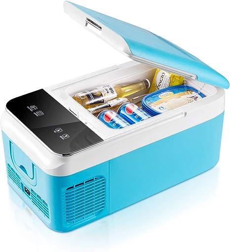Ausranvik - Congelador portátil para coche (16 cuartos), 12 V, 4 ...