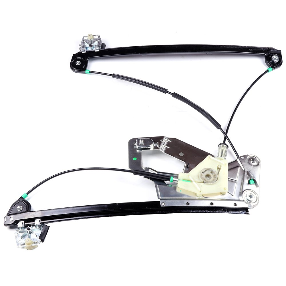 Power Window Lift Regulator on Front Right Passengers Side Replacement for 2001-2003 BMW 525i 530i 540i M5 1999-2000 BMW 528i 528it 540i 540it 2000 BMW M5 1997-1998 BMW 528i (NO Motor Assembly) ECCPP 106015-5211-1559371051