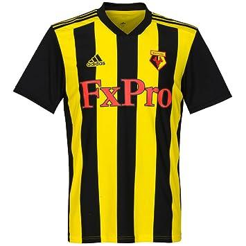 Adidas 2018-2019 Watford Home Football Soccer T-Shirt Camiseta: Amazon.es: Deportes y aire libre