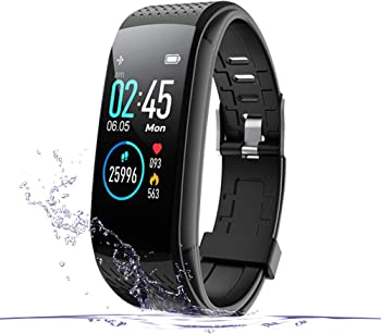 WalkerFit Fitness Activity Tracker with Heart Rate Monitor