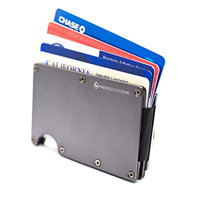 RFID-Blocking Slim Minimalist Card Holder/Travel Wallet