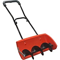EasyGoProducts Snow Screw, Auger Style Manual Snow Blower, Snow Plow, Heavy Duty Turning Pusher Shovel – Compare to Snow