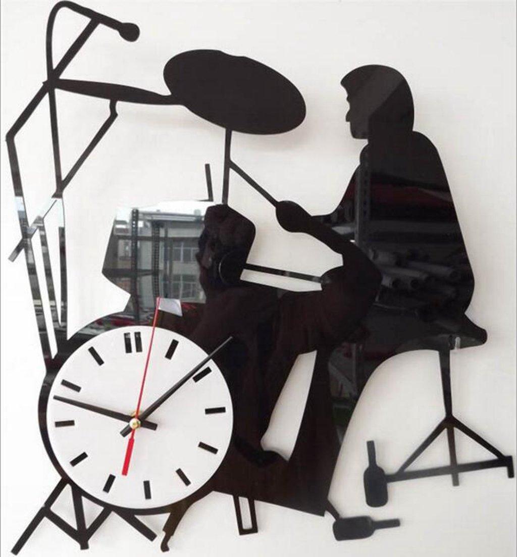 Sucastle Happy, time, mute, wall clock, Stylish (no battery) NCDB