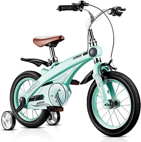 Bicicletas Para Niños Niños De Moda Niños Y Niñas Al Aire Libre Niños Al Aire Libre Los Mejores Regalos para Niños (Color : Blue , Size : 14 Inches) : Amazon.es: Juguetes y juegos