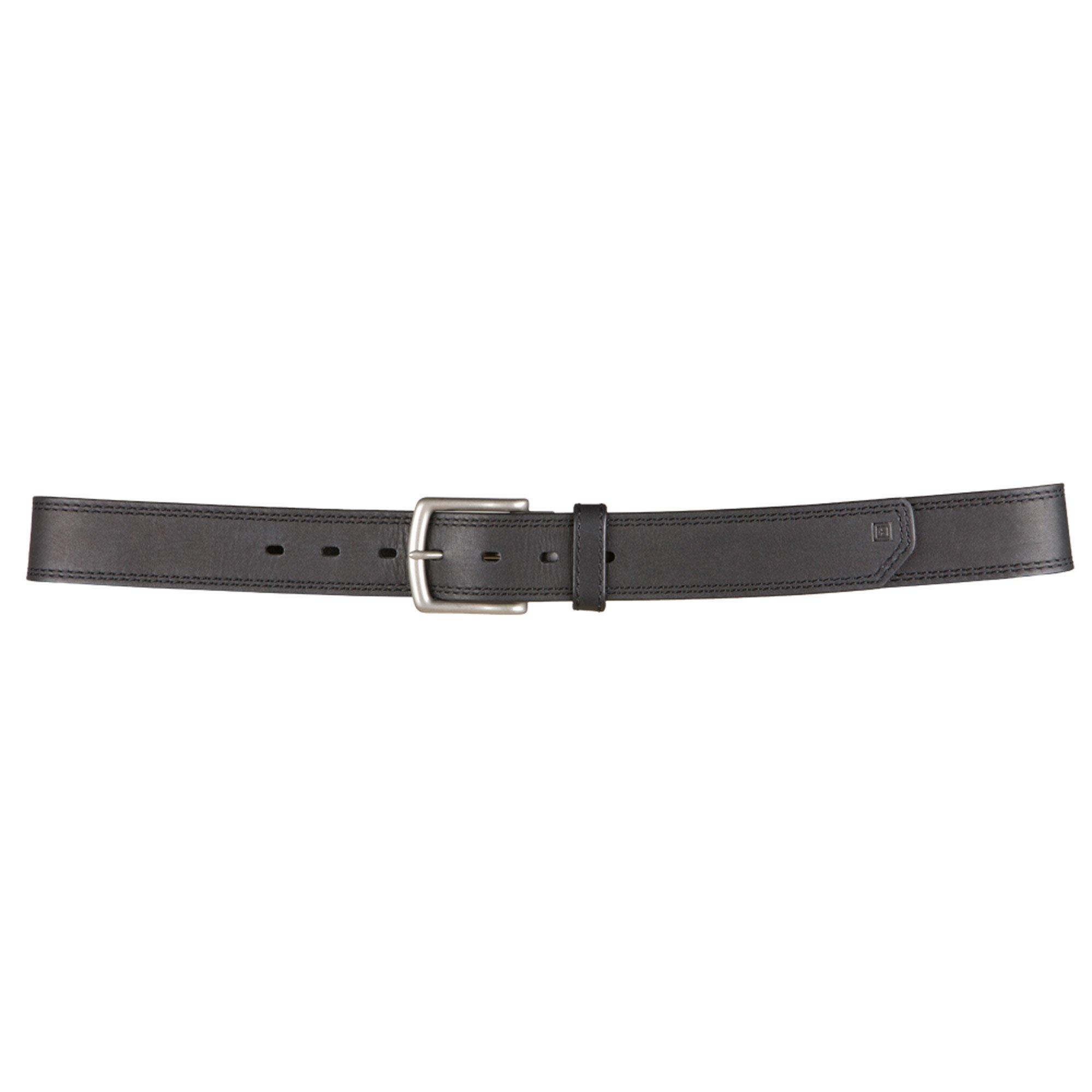 5.11 Tactical Arc Leather Belt, Black, Large